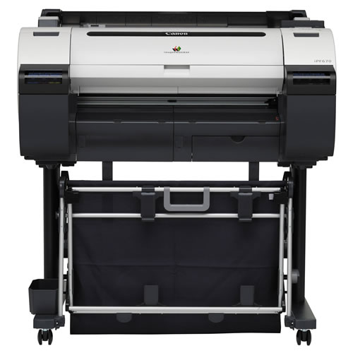 Canon imagePROGRAF iPF670 5 colour 24 inch A1 Wide Format CAD / Poster Printer