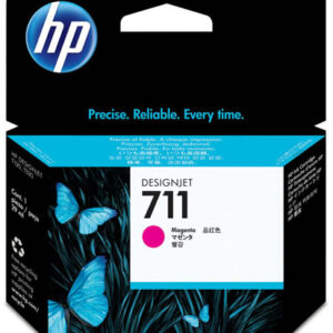 HP 711 Magenta Ink Cartridge - 29ml Ink Tank - for HP DesignJet T120, T125, T130, T520, T525 & T530 Printers - CZ131A - express delivery from GDS - Graphic Design Supplies Ltd