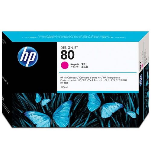 HP No 80 Magenta Ink Cartridge 350ml C4847A