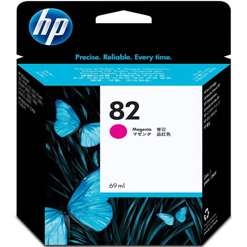 HP 82 Magenta Printer Ink Cartridge 69ml C4912A