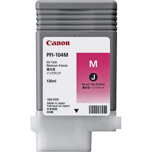 Canon PFI-104M Magenta Ink Cartridge 130ml 3631B001AA