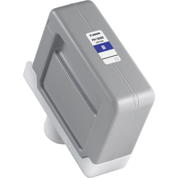 Canon PFI-306B Blue - 330ml Ink Tank- for Canon iPF8300, iPF8400 & iPF9400 Printers - 6665B001AA - express delivery from GDS - Graphic Design Supplies Ltd