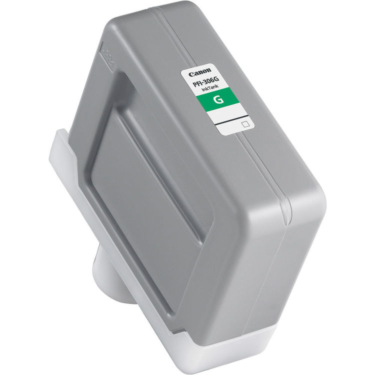 Canon PFI-306G Green - 330ml Ink Tank - for Canon iPF8300, iPF8400 & iPF9400 - 6664B001AA - express delivery from GDS - Graphic Design Supplies Ltd