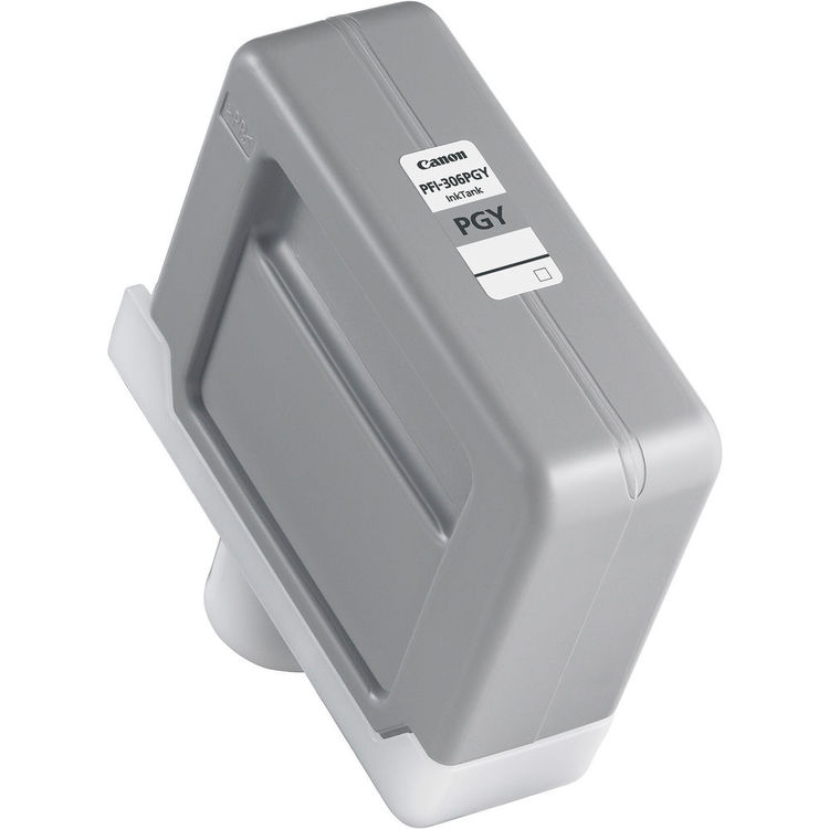 Genuine OEM Canon PFI-306PGY Photo Grey - 330ml Ink Tank Cartridge - for Canon iPF8300, iPF8400 & iPF9400 Printers - 6667B001AA - express delivery from GDS - Graphic Design Supplies Ltd