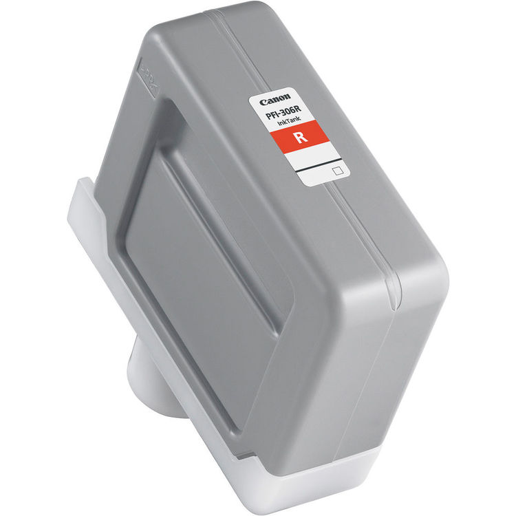 Canon PFI-306R Red - 330ml Ink Tank - for Canon iPF8300, iPF8400, iPF8400SE & iPF9400- 6663B001AA - express delivery from GDS - Graphic Design Supplies Ltd