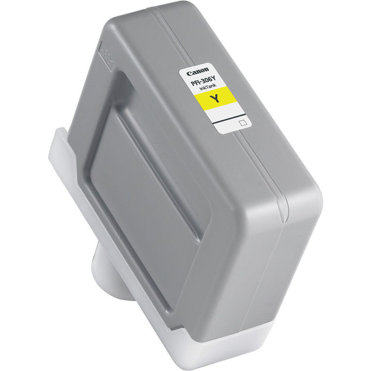Canon PFI-306Y Yellow - 330ml Ink Tank - for Canon iPF8300, iPF8300S, iPF8400, iPF8400S, iPF8400SE, iPF9400 & iPF9400S Printers - 6660B001AA - express delivery from GDS - Graphic Design Supplies Ltd