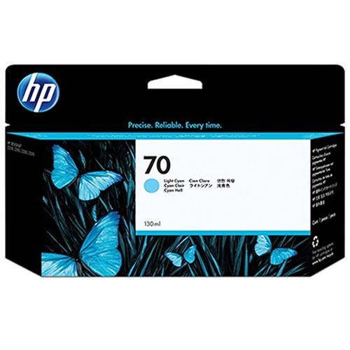 HP 70 Light Cyan Ink Cartridge C9390A
