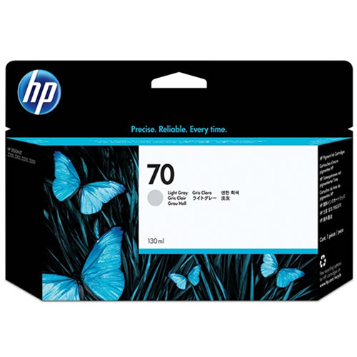 HP 70 Light Grey Ink Cartridge 130ml C9451A
