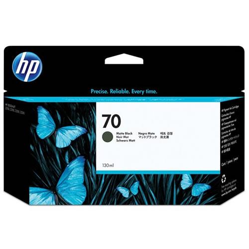 HP 70 Matte Black Ink Cartridge 130ml C9448A