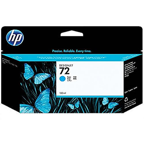 HP 72 Cyan Ink Cartridge 130ml C9371A
