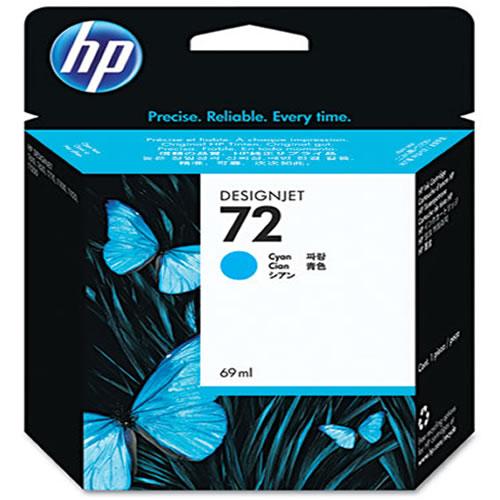 HP 72 Cyan Ink Cartridge 69ml C9398A