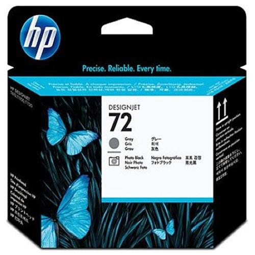 HP 72 Grey & Photo Black Printhead C9380A