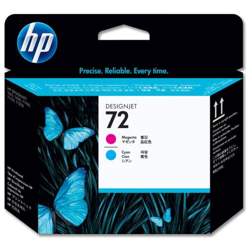 HP 72 Magenta & Cyan Printhead C9380A