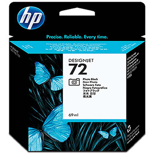 HP 72 Photo Black Ink Cartridge 69ml C9397A