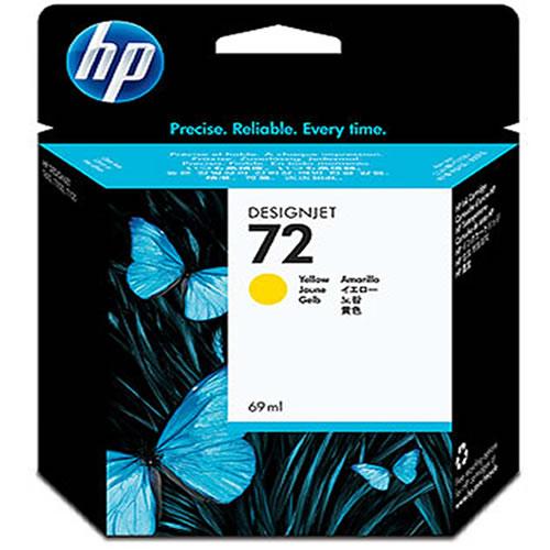 HP 72 Yellow Ink Cartridge 69ml C9400A