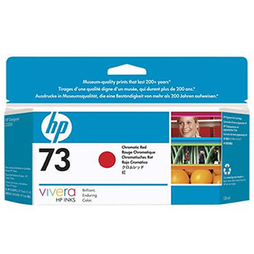 HP 73 Chromatic Red Ink Cartridge 130ml CD951A