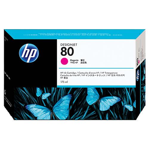 HP No 80 Magenta Ink Cartridge 175ml C4874A