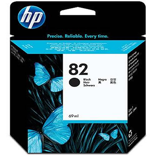 HP 82 Black Inks Cartridge 69ml CH565A