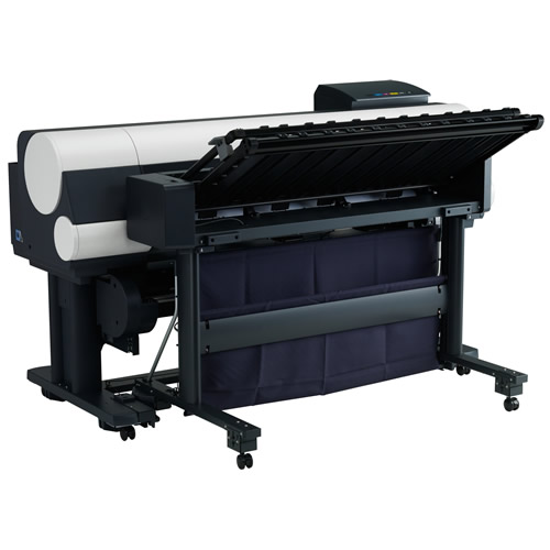 Canon imagePROGRAF iPF850 Printer - 44 inch Dual Roll with 320Gb HDD and High Capacity Stacker