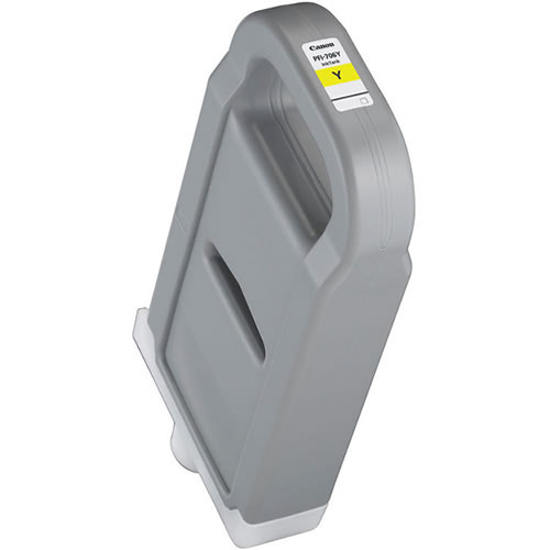 Canon PFI-706Y Yellow - 700ml Ink Tank - for Canon iPF8300, iPF8300S, iPF8400, iPF8400S, iPF8400SE, iPF9400 & iPF9400S Printers - 6684B001AA - express delivery from GDS - Graphic Design Supplies Ltd