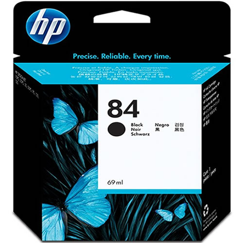HP 84 Black Ink Cartridge 69ml C5016A