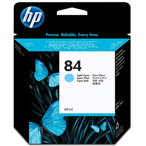 HP 84 Light Cyan Ink Cartridge 69ml C5017A