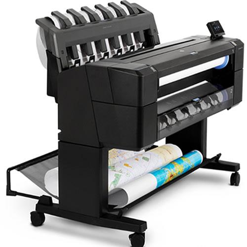 HP DesignJet T1500 ePrinter - 36 inch Dual Roll Technical Printer