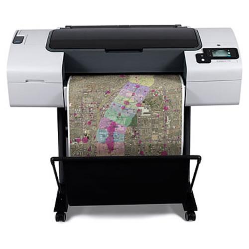 Hewlett Packard HP Designjet T790PS 24 inch A1 Postcript Plotter - front view