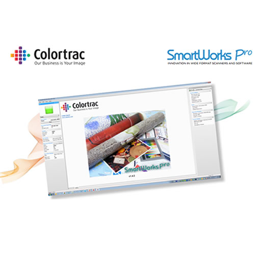 Colortrac SmartWorks Pro Software - SCAN & COPY