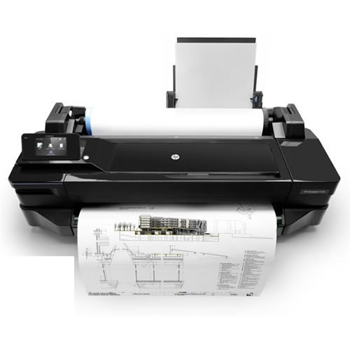 HP DesignJet T120 | for illustration purposes | printer not included