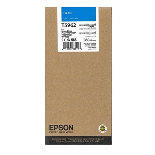 Epson T596200 Cyan Ink Tank Cartridge 350ml C13T596200