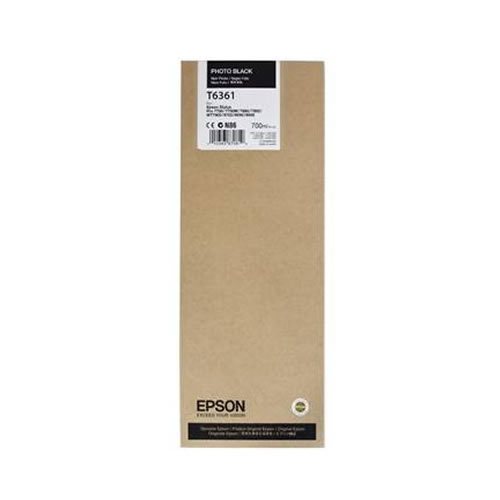 Epson T636100 Photo Black Ink Tank Cartridge 700ml C13T636100