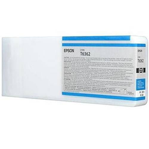 Epson T636200 Cyan Ink Tank Cartridge 700ml C13T636200