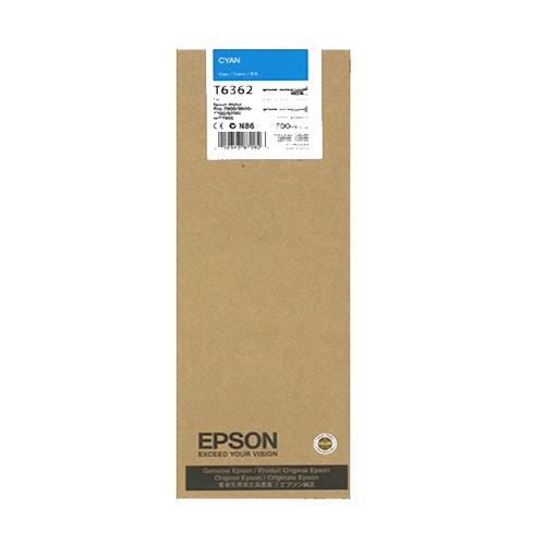 Epson T636200 Cyan Ink Tank Cartridge 700ml C13T636200