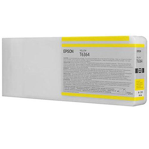 Epson T636400 Yellow Ink Tank Cartridge 700ml C13T636400