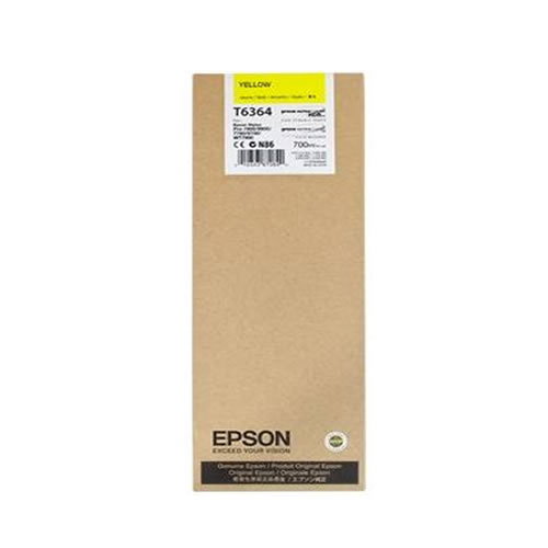Epson T636400 Yellow Ink Tank Cartridge 700ml C13T636400 boxed