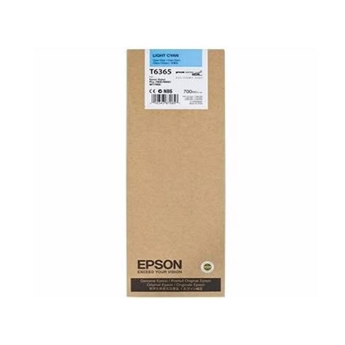 Epson T636500 Light Cyan Ink Tank Cartridge 700ml C13T636500 boxed