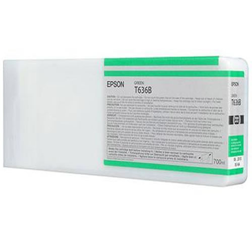 Epson T636B00 Green Ink Tank Cartridge 700ml C13T636B00
