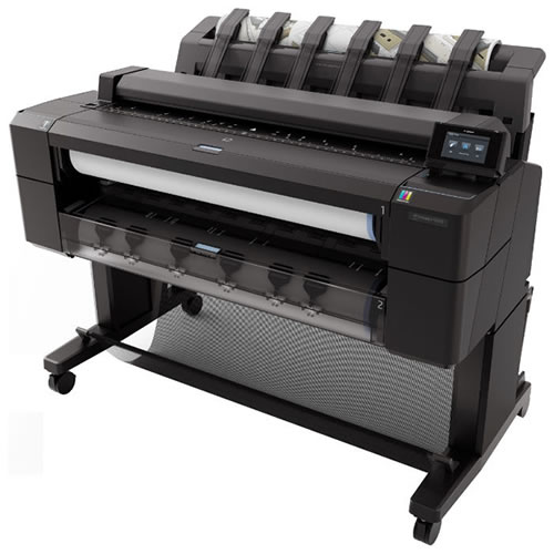 HP DesignJet T1500PS Postscript ePrinter - 36 inch Dual Roll Postscript Technical Printer