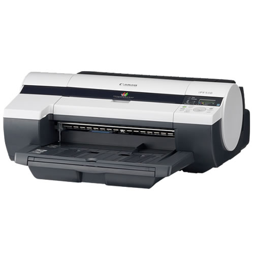 Canon imagePROGRAF iPF510 Printer - 17 inch desktop CAD printer with roll feed