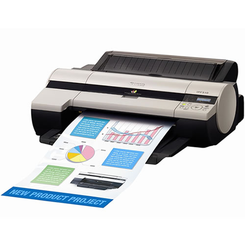 Canon imagePROGRAF iPF510 Printer - 17 inch CAD printer - sheet feed only