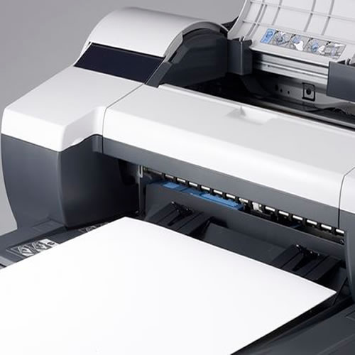 Canon imagePROGRAF iPF510 Printer - 17 inch CAD printer with roll feed - paper casette