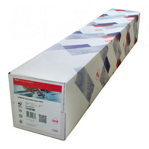 Canon Oce Group LFM054 Red Label PPC Plain Paper Roll 75gsm 841mm x 175mt 3 inch core 99967977