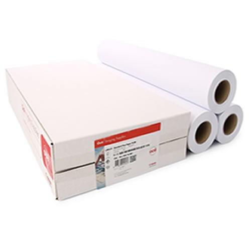 Canon IJM021 Neutral Label Standard Paper Rolls 90gsm 24 inch A1 610mm x 50mt 3 Pack 97003452