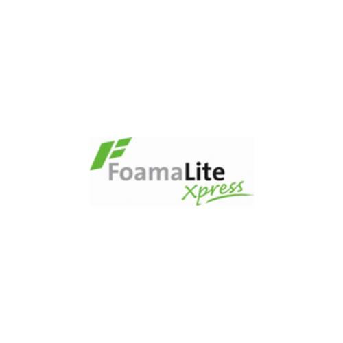 Foamalite X-Press PVC Foam Sheet - Printable Foamboard - 2mm 1220mm x 2440mm - Filmed - Single Sheet