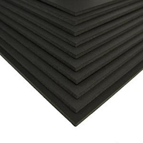 GDS Budget Black Foamboard 5mm A2 420mm x 594mm Pack 10 Sheets