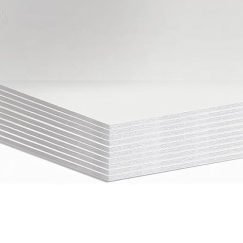 GDS Budget White Foamboard 3mm A2 420mm x 594mm Pack 30 Sheets