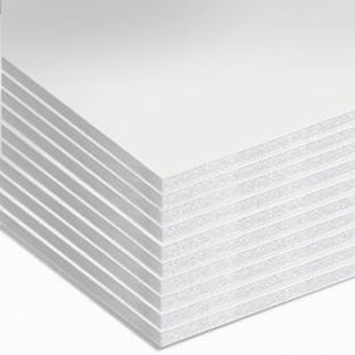 GDS Budget White Foamboard 5mm A2 420mm x 594mm Pack 20 Sheets