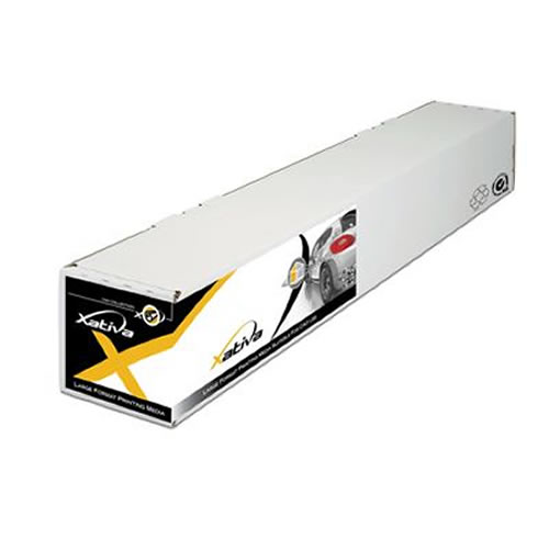 Xativa Roll Up PP with Grey Back 210 micron 36 inch A0 914mm x 30mt XRUGB210-36