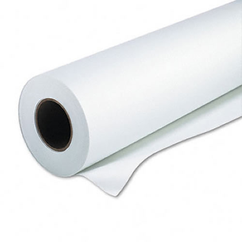 "GDS Gift Wrap - for printing customised wrapping paper - smooth white coated Inkjet paper roll for digitally printing gift wrap on iPF605, iPF670, iPF6400SE - 100gsm - 24"" inch A1 610mm x 45mt"